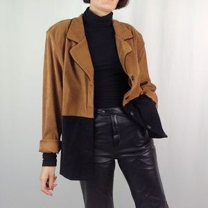 90's Frederick's of Hollywood color block blazer